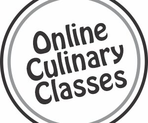 Online culinary classes icon