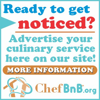 advertise on chefbnb.org