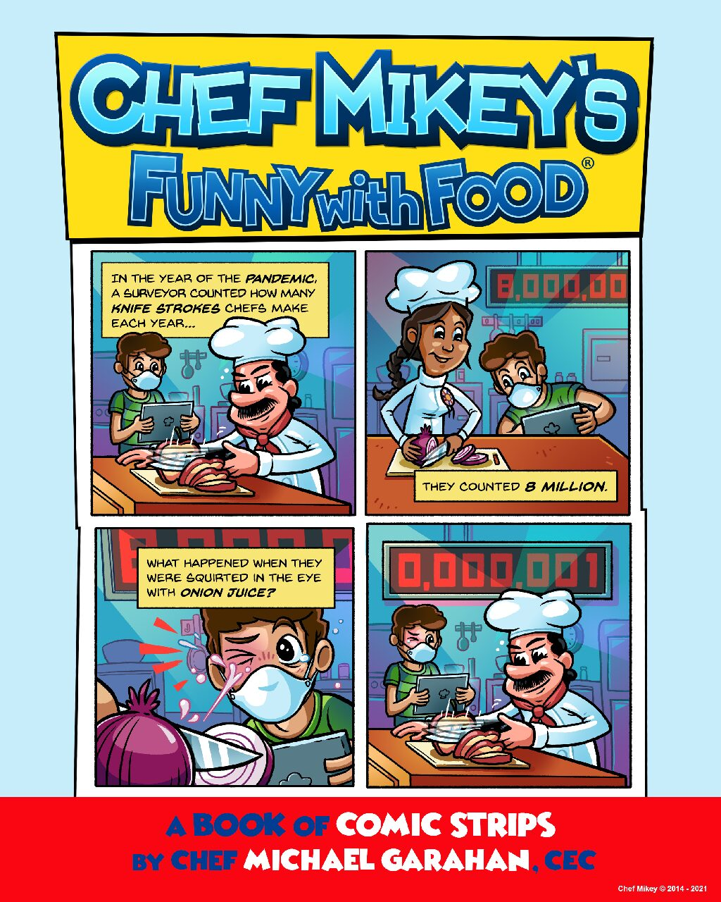 Chef Mikey's Funny With Food (r)